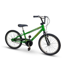 Bicicleta Infantil Nathor Aro 20 Army Verde Menino Bike