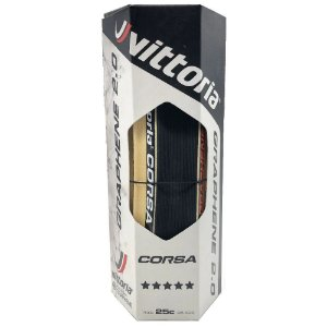 Pneu Vittoria Corsa Control 700x25c Grafeno 2.0 Speed Road - Unidade
