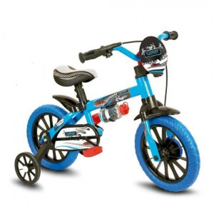 Bicicleta Infantil Menino Aro 12 Nathor Veloz