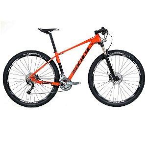 Bicicleta Soul SL329 Aro 29 27v Vermelho Preto Branco