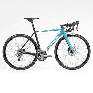 Bicicleta Soul 3R1 Tiagra Disc 20v Speed Preto Verde