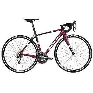 Bicicleta Soul 3R1F Tiagra 20V Speed Preto Roxo