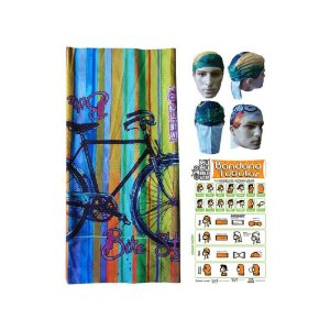 Bandana Tubular Muhu Bike Style Retrô Ciclismo Mtb Proteção