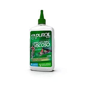 Lubrificante Úmido Aqua Ptfe Teflon 100ml Puroil Ecológico