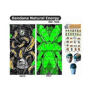 Bandana Tubular Muhu Banana Natural Energy Ciclismo Bike Proteção