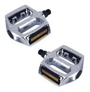 Pedal Plataforma Alumínio Feimim 1/2 Rosca Fina Sueco