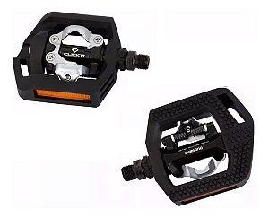 Pedal Shimano Clip Pd-t421 Plataforma Tacos Sm-sh56 Click'r