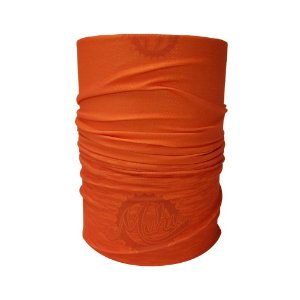 Bandana Tubular Muhu Solid Color Orange Ciclismo Bike Proteção
