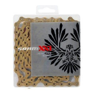 Corrente Sram Eagle Pc Xx1 Gold 126 Links 12v Xx1 260g