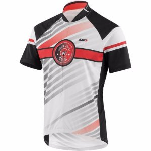 Camisa Louis Garneau Club East Coast Vermelha Mtb Dry