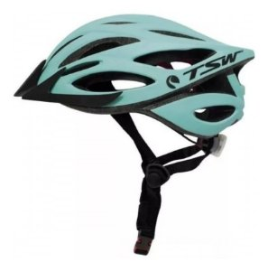 Capacete Tsw Plus Vista Light Verde Água Mtb Speed Regulagem
