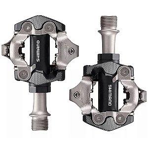 Pedal Shimano Deore Xt Pd-m8100 Clip Preto + Tacos Xc Mtb
