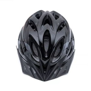 Capacete Tsw Raptor 2 Com LED Preto Cinza Vermelho Ciclismo Mtb Xc