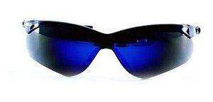 Óculos Nemesis Jackson G12 Flexível Preto Lente Azul Fumê