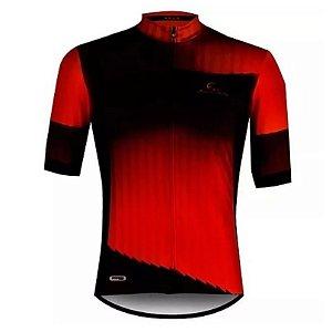 Camisa Ciclismo Mauro Ribeiro Hold Vermelha Masculina Bike