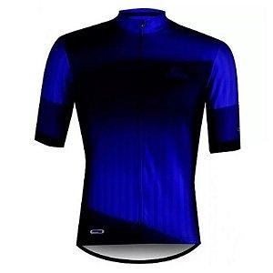 Camisa Ciclismo Mauro Ribeiro Hold Azul Masculina Bike