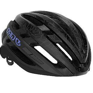 Capacete Ciclismo Bike Giro AGILIS  MIPS Original  Cor Matte Black Floral
