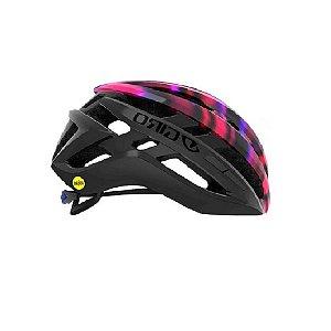 Capacete Ciclismo Bike Giro AGILIS MIPS Original Cor Matte Black Electric Purplle