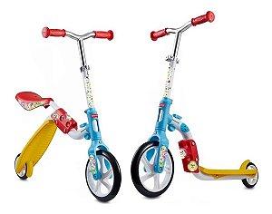 Bicicleta De Equilíbrio E Patinete 2 Em 1 Fisher Price