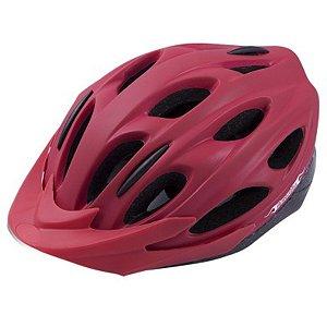 Capacete Damatta Biker Vermelho Fosco Ciclismo Mtb Speed