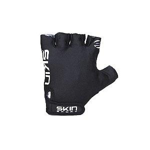 Luva Ciclismo Aberta Meio Dedo Skin Sport Fun Mtb Speed