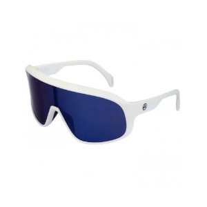 Óculos Ciclismo Absolute Nero Branco Lente Azul Polarizado UV400