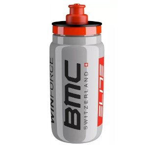 Garrafa Caramanhola Elite Fly Team BMC Switizerland 550ml Cinza