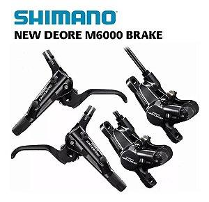 Freio Hidráulico Shimano Deore M6000 I-spec Il Mtb Xc - Par