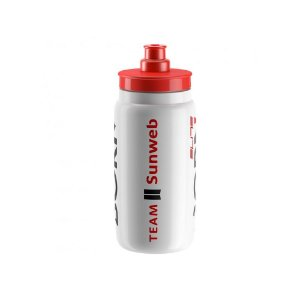 Garrafa Caramanhola Elite Fly 550ml Team Sunweb Speed Mtb Xc