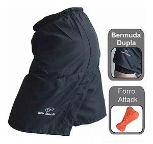 Bermuda Ciclismo Bike Free Ride Barbedo Dupla com Forro