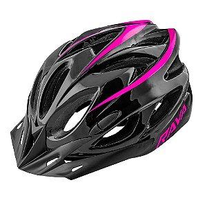Capacete Ciclismo Tsw Rava Space New Preto Pink