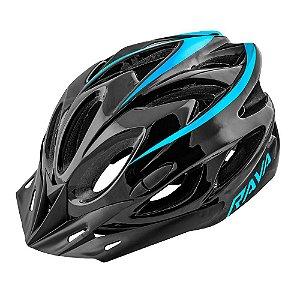 Capacete Ciclismo Tsw Rava Space New Preto Azul