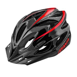 Capacete Ciclismo Tsw Rava Space New Preto Vermelho