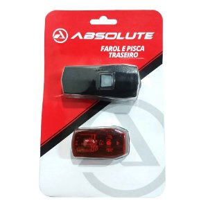 Farol + Pisca Absolute Jy- 7059B + JY-6069B Bike USB