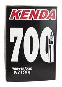 Câmara De Ar Kenda Speed 700x23 Bico Longo 80mm Presta - Und