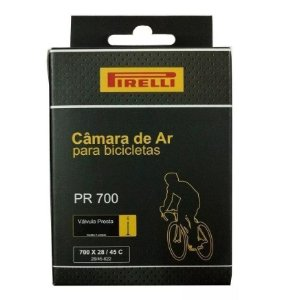 Câmara Ar Bicicleta 700x28/45 Speed Bico Presta Fino Pirelli 48mm