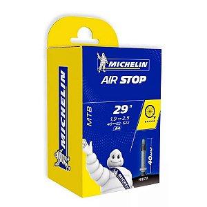 Camara de Ar Michelin Aro 29X1,9/2,5 Presta Bico Fino 40mm - Air Stop