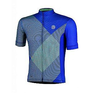 Camisa Ciclismo Mauro Ribeiro Proper Masculina Azul