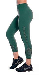 Calça Legging Ginástica Fitness Roupa Academia Feminina Lupo Verde