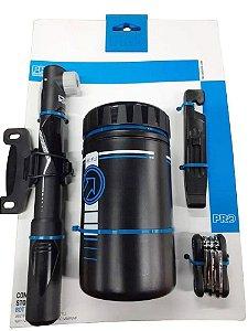 Kit Shimano Pro Porta Treco canivete bomba De Ar Espátula
