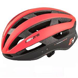 Capacete Ciclismo High One Wind Aero Bicicleta Mtb  Vermelho