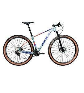 Bicicleta 29 Soul Sl729 20v Shimano Deore 2020 Cinza/azul