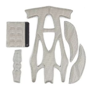 Kit Espuma Interna Para Capacete Plus E New Walk Tsw Completo