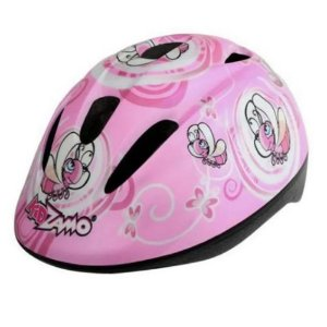 Capacete Ciclismo Infantil Kz-168 Abelha Rosa Rosa Criança