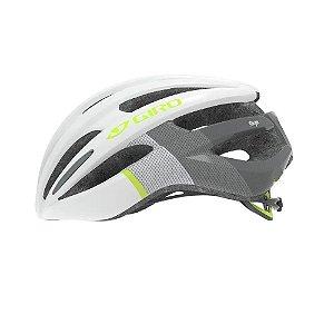 Capacete Feminino Ciclismo Giro Saga 51 - 55cm Gelo/verde