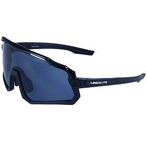 Óculos Ciclismo Absolute Wild Preto Lente Fume UV400 Mtb