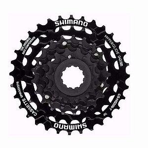 Cassete Shimano Cs-hg200 7v 12/32 Dentes Bicicleta Mtb