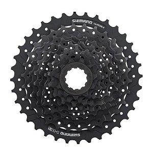 Cassete Shimano Altus Cs Hg200 11/36d 9v 18v 27v Preto Bike