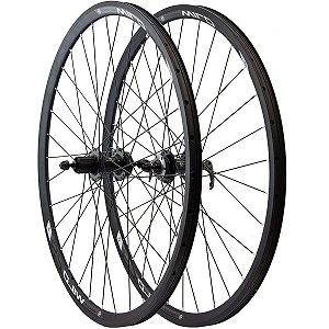 Roda Absolute Wild Aro 29 Cassete Disco Bike Mtb Rolamento - Par
