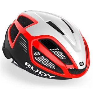 Capacete Ciclismo Rudy Project Spectrum RED Black White Tam M